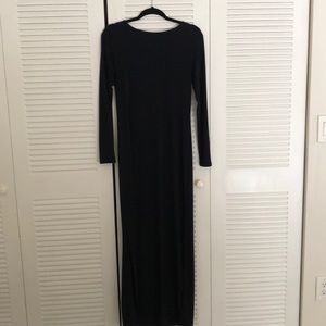 Michael Michael Kors navy blue maxi dress